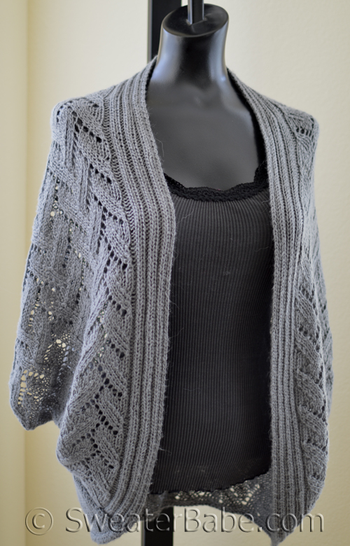 knitting pattern for calida luxe cocoon cardigan