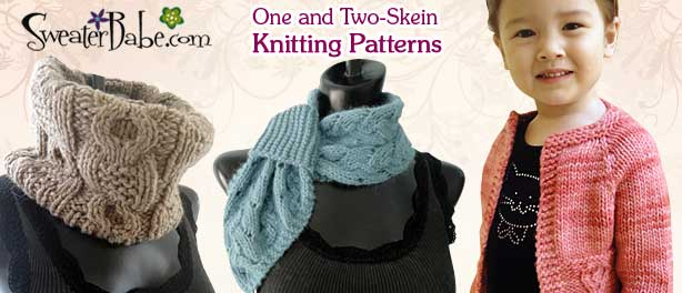 One and Two-Skein Knitting Patterns