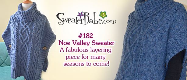 Noe Valley Sweater Knitting Pattern